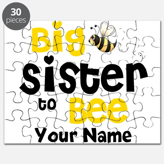 Big Sister to Be Personalized Puzzle