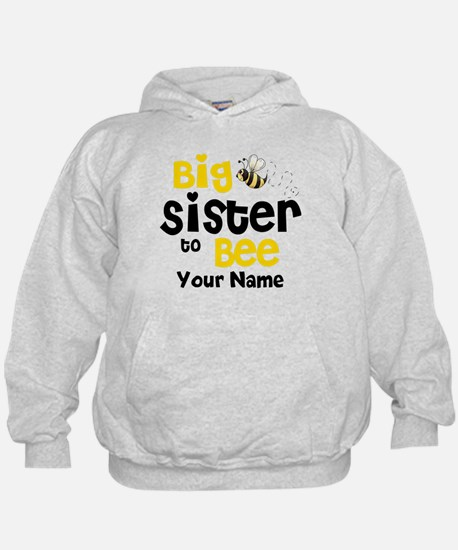 Big Sister to Be Personalized Hoody