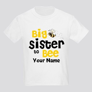 Big Sister to Be Personalized Kids Light T-Shirt