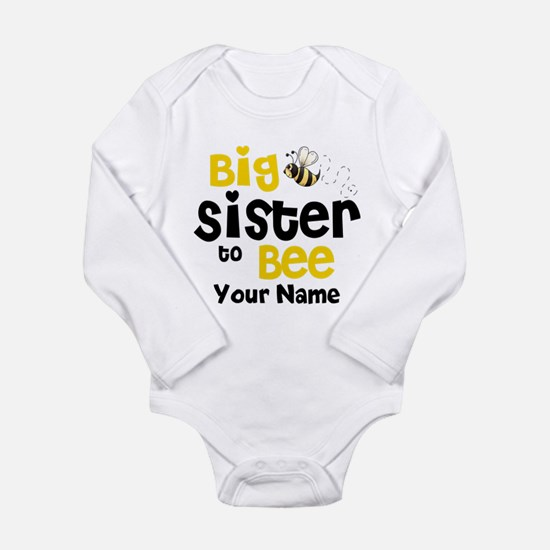 Big Sister to Be Personalized Long Sleeve Infant B
