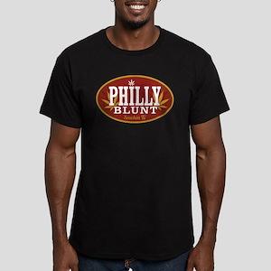 Smokin Ts Philly Men's Fitted T-Shirt (dark)