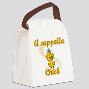 A cappella Chick #2 Canvas Lunch Bag