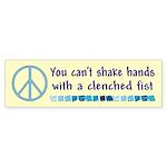 Shake Hands Bumper Sticker