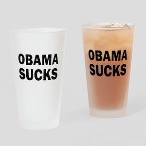 Obama Sucks Anti Obama Drinking Glass
