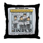 Zero Tolerance Throw Pillow