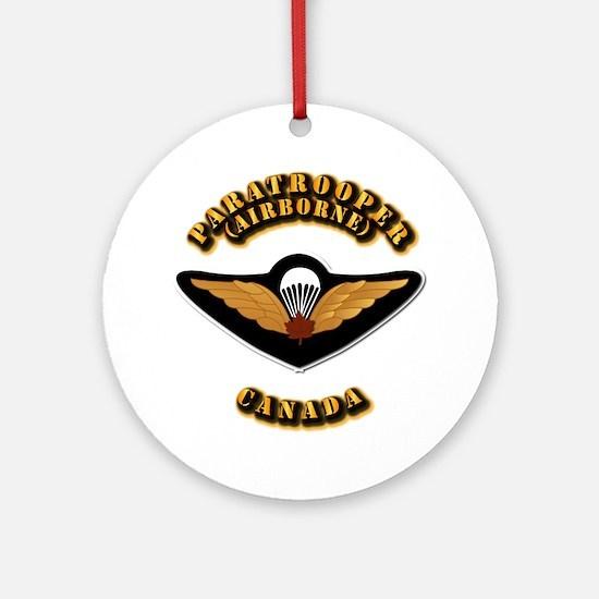 Airborne - Canada Ornament (Round)