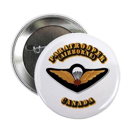 """Airborne - Canada 2.25"""" Button"""