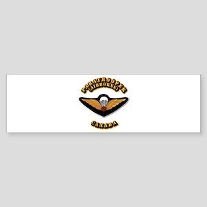 Airborne - Canada Sticker (Bumper)