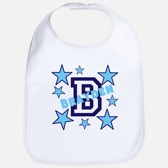 Personalized with your name and first initial Bib