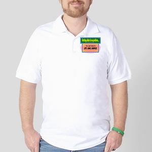 Live Long Enough-Groucho Marx/t-shirt Golf Shirt