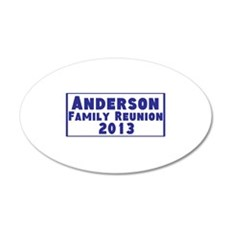 Personalized Family Reunion Wall Decal