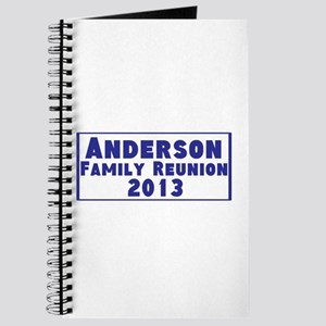 Personalized Family Reunion Journal
