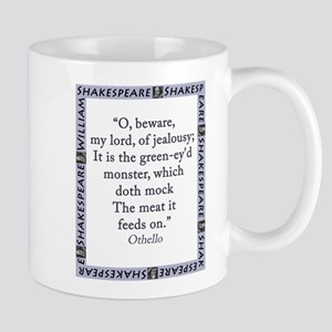 O Beware My Lord 11 oz Ceramic Mug