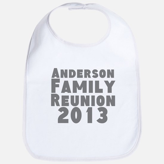 Personalized Family Reunion Bib