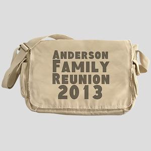 Personalized Family Reunion Messenger Bag