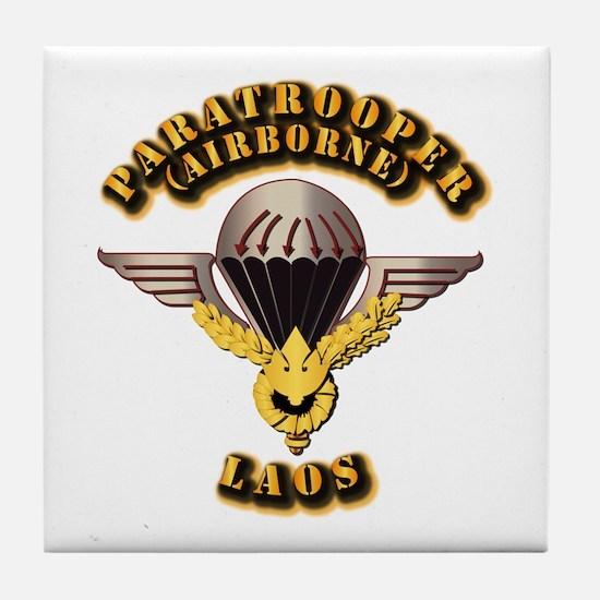 Airborne - Laos Tile Coaster