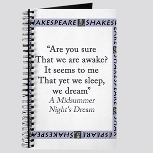 Are You Sure That We Are Awake? Journal