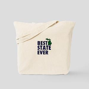 Michigan: Best State Ever Tote Bag