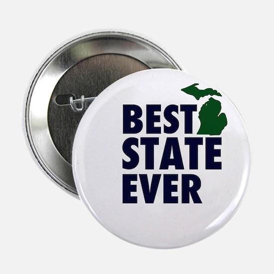 "Michigan: Best State Ever 2.25"" Button"