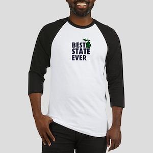 Michigan: Best State Ever Baseball Jersey