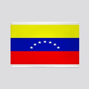 Venezuela Venezuelan Blank Fl Rectangle Magnet