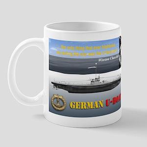 Winston Churchill U-Boat Peril Mug