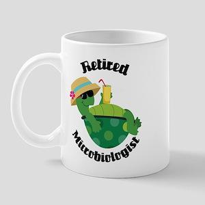 Retired Microbiologist Gift Mug