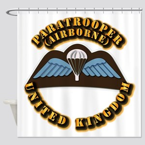 Airborne - UK Shower Curtain