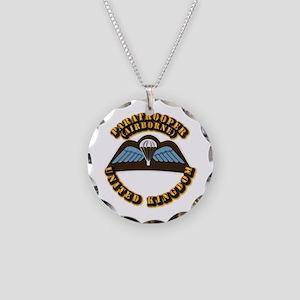 Airborne - UK Necklace Circle Charm