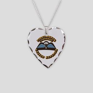 Airborne - UK Necklace Heart Charm