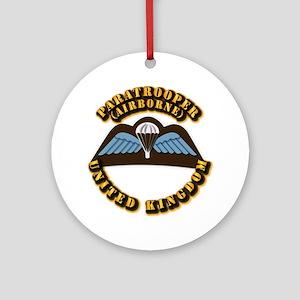 Airborne - UK Ornament (Round)