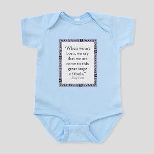 When We Are Born Infant Bodysuit