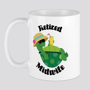 Retired Midwife Gift Mug