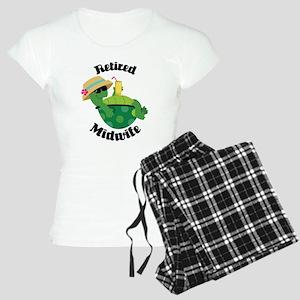 Retired Midwife Gift Women's Light Pajamas