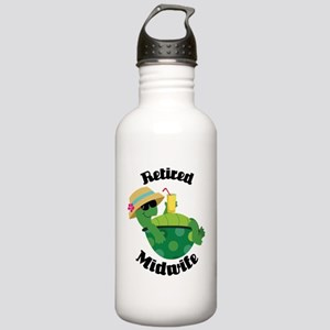 Retired Midwife Gift Stainless Water Bottle 1.0L