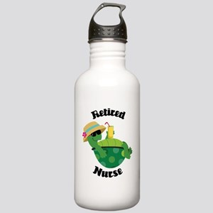 Retired Nurse Gift Stainless Water Bottle 1.0L