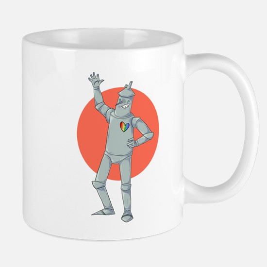 Tin Man Podcast Official Logo Mug