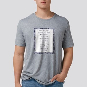 What a Piece of Work Is Man Mens Tri-blend T-Shirt
