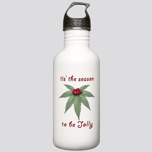 Tis the Season to be Jolly Holiday Weed Design Sta