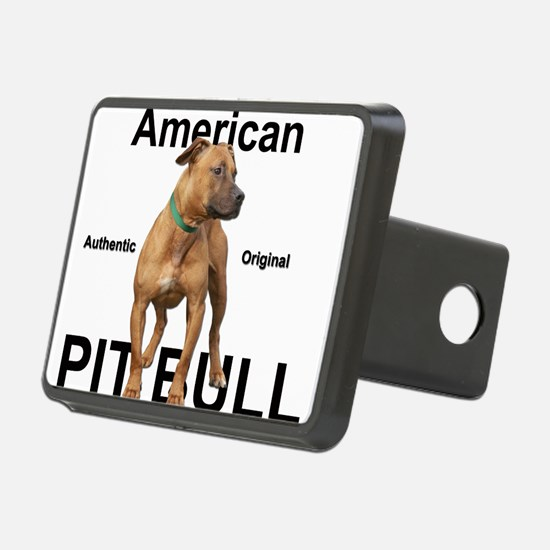 Authentic White Hitch Cover