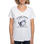 Space Jump 3 Women's V-Neck T-Shirt