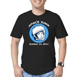 Space Jump Men's Fitted T-Shirt (dark)