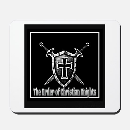 The Order of Christian Knights Mousepad