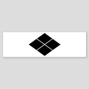 takeda lozenge Sticker (Bumper)