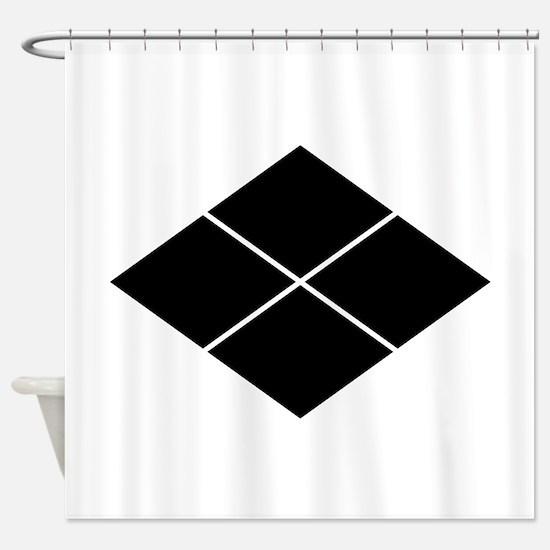 takeda lozenge Shower Curtain