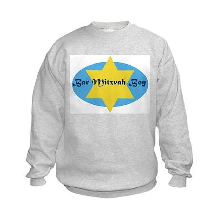 Bar Mitzvah Boy Kids Sweatshirt