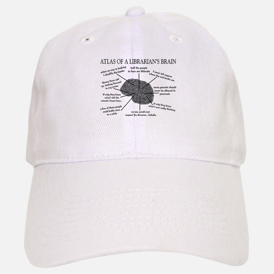 atlas of a librarians brain.PNG Baseball Baseball Cap