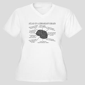 atlas of a librarians brain.PNG Women's Plus Size