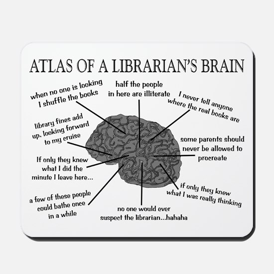 atlas of a librarians brain.PNG Mousepad