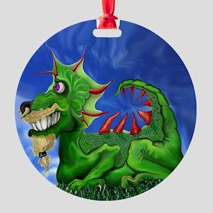 dragoony1 Round Ornament
